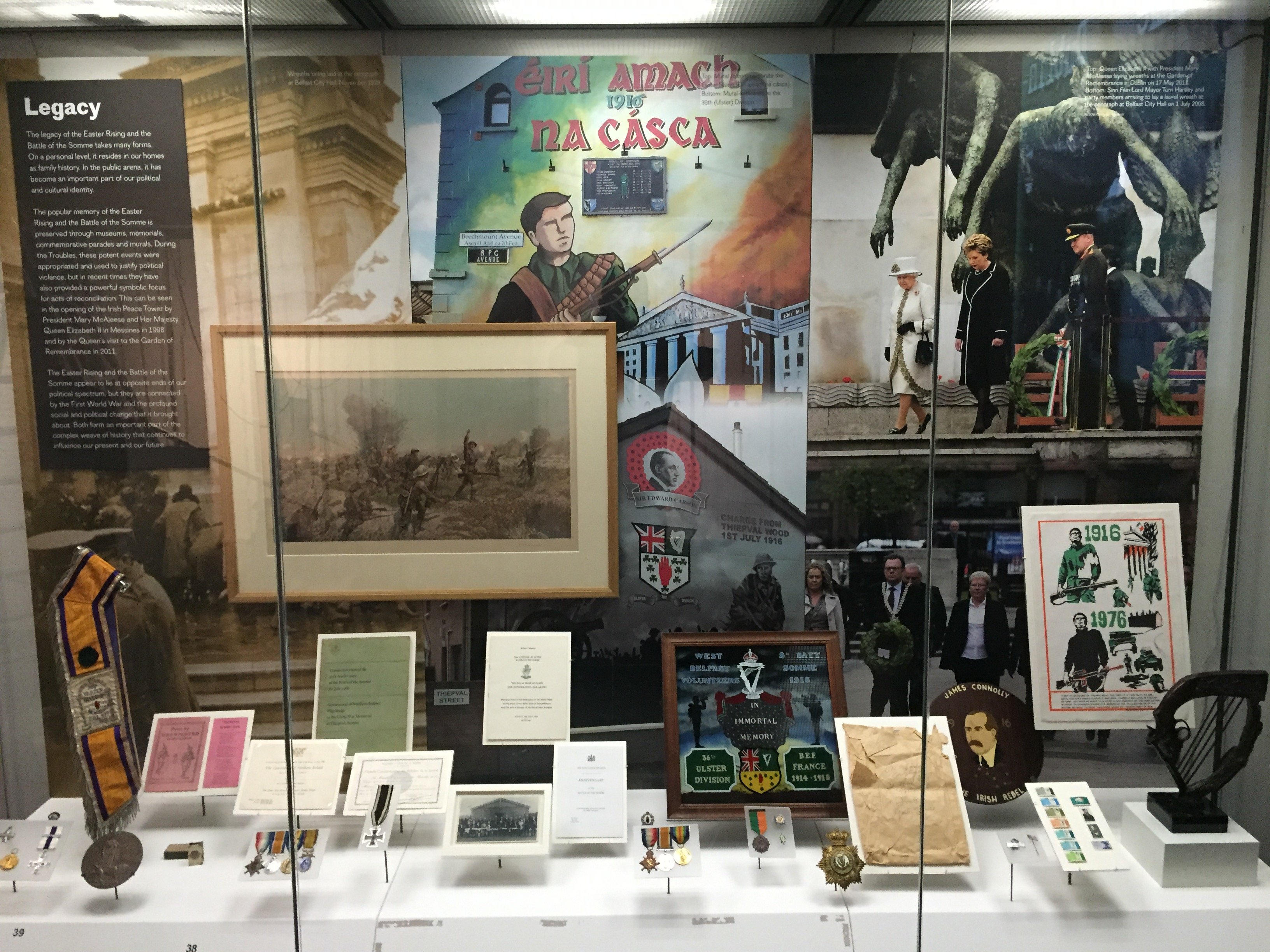 Remembering 1916 at the Ulster Museum